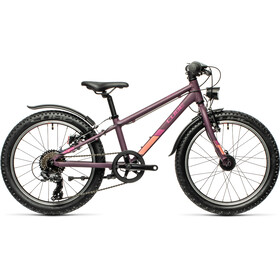 Cube Acid 200 Allroad Kinderen, purple'n'orange